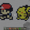 improved Ash and Pikachu